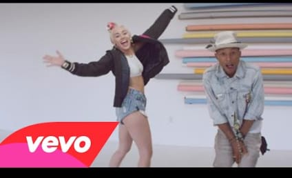 """Miley Cyrus, Pharrell Drop """"Come Get It Bae"""" Music Video: First Look!"""