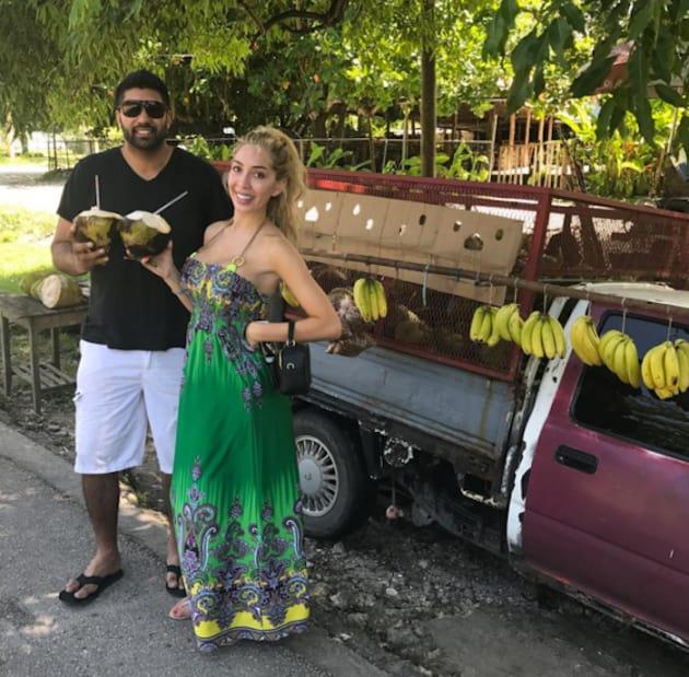 Farrah Abraham and Simon Saran on Vacation