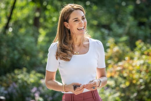 Kate Middleton Is Happy