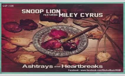 "Miley Cyrus and Snoop Lion Release ""Ashtrays and Heartbreaks"""
