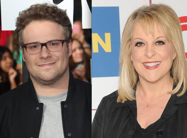 Seth Rogen vs. Nancy Grace