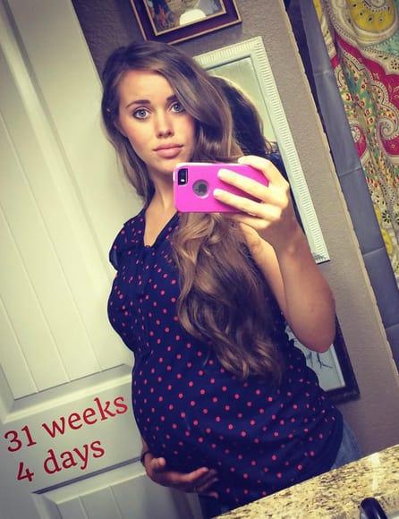 Jessa Seewald Baby Bump (31 Weeks)