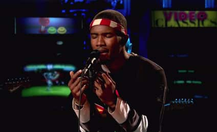 Frank Ocean Pulled Over for Pot Posession