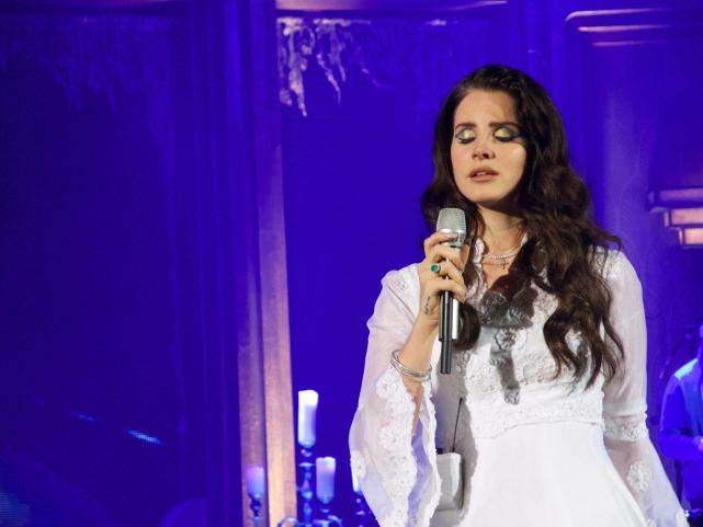 Lana Del Rey On Stage