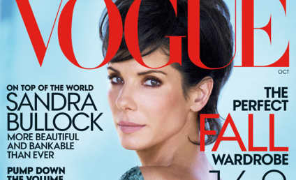 """Sandra Bullock Vogue Cover, Interview: Star Where She's """"Supposed to Be"""" After Jesse James Split"""