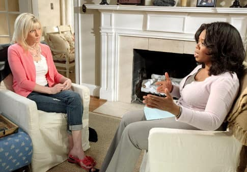 Oprah and Rielle