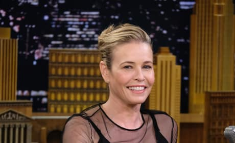 Chelsea Handler on The Tonight Show