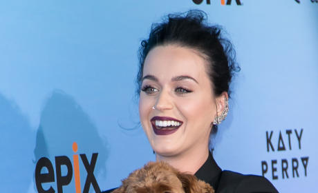 Katy Perry and Puppy