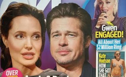 Angelina Jolie: Divorcing Brad Pitt For Cheating?!