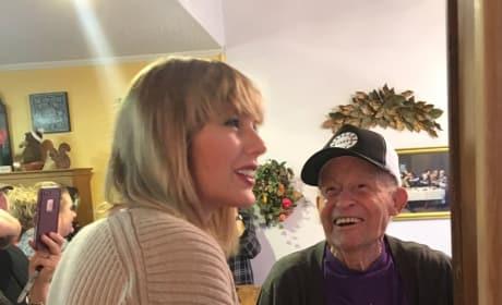 A Taylor Swift Surprise