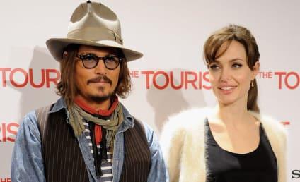 Angelina Jolie Divorce Shocker: Is Johnny Depp Involved?!
