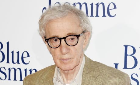 Woody Allen on Red Carpet