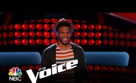 Lindsay Pagano, Joshua Howard and Tanner James (The Voice Auditions)