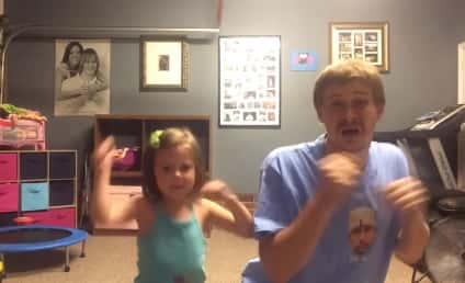 """Adorable Father and Daughter Dance to """"Shake It Off,"""" Win the Internet"""
