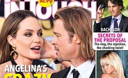 "Angelina Jolie Making ""Crazy Wedding Demands,"" Gossip Rag Claims"