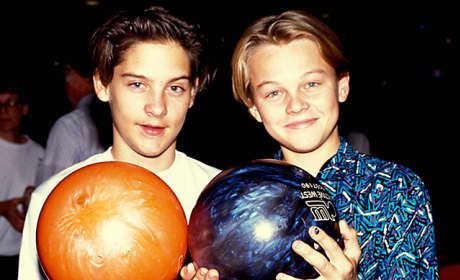 Tobey Maguire and Leonardo DiCaprio