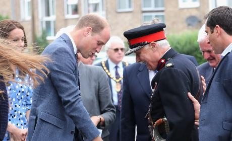 Prince William assures Vice Lord Lieutenant of Essex Ok To Fall