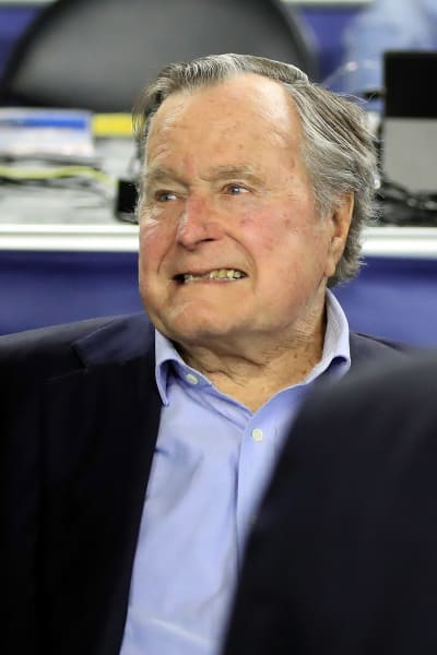George H. W. Bush Smiles