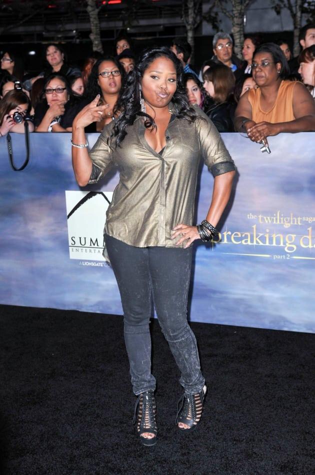 Shar Jackson at Breaking Dawn Premiere