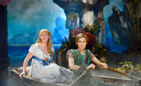 Peter Pan Live Scene