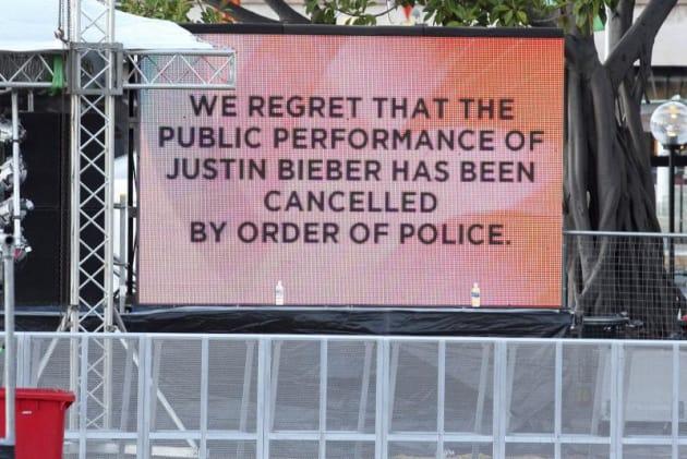 Canceled Concert