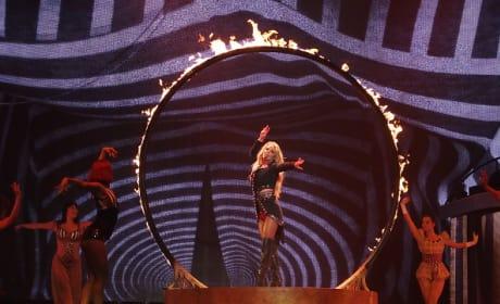 Britney Spears Performs In Las Vegas!