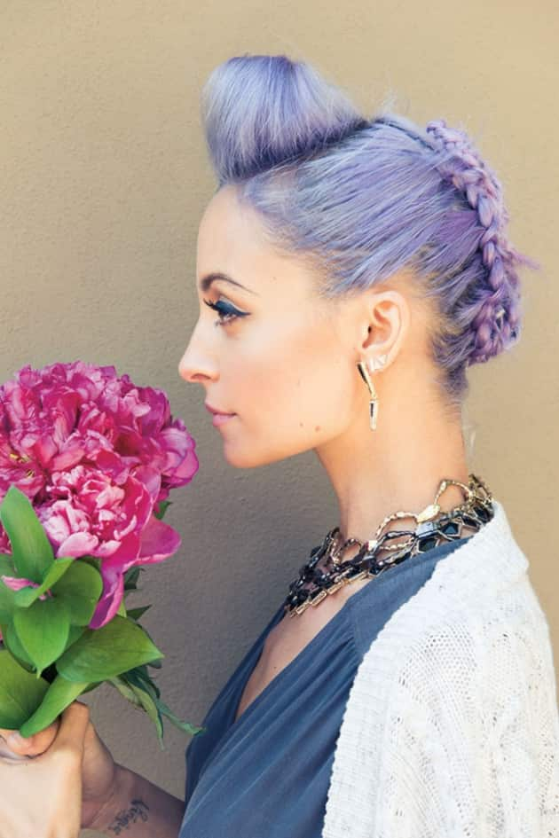 Nicole Richie Flower Photo