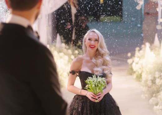 Christine Quinn Wedding Photo