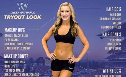 University of Washington Apologizes for Body-Shaming Cheerleader Poster