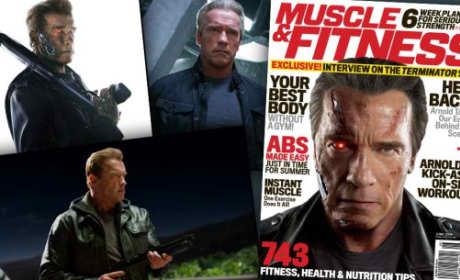 Arnold Schwarzenegger: Terminator Genisys Sneak Peek