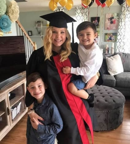 Kailyn Lowry with Sons