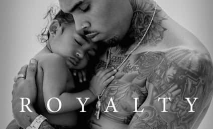 Chris Brown Cradles Daughter on New Album Cover
