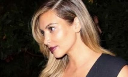 Kim Kardashian, Boobs Stroll Around Paris