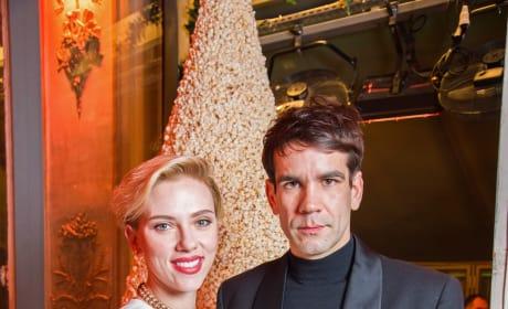 Scarlett Johansson and Romain Dauriac Image