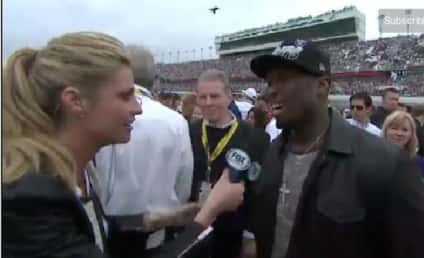 50 Cent: Rejected by Erin Andrews at Daytona 500!