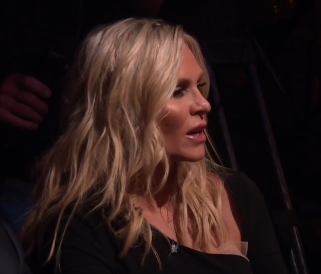 Tamra judge screeches from the audience