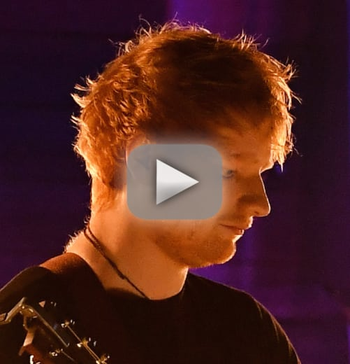 Ed sheeran grammy performance taking it back to his roots