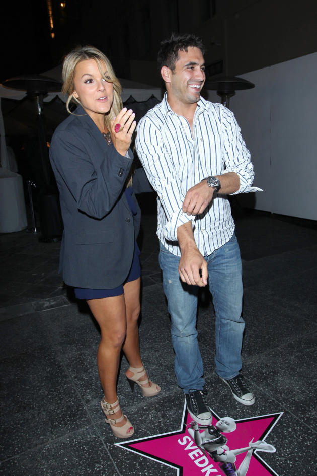 Roberto Martinez and Ali Fedotowsky Picture