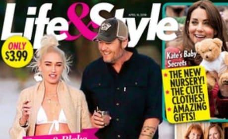 Blake Shelton and Gwen Stefani Cover