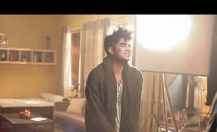 Behind the Scenes with Adam Lambert...