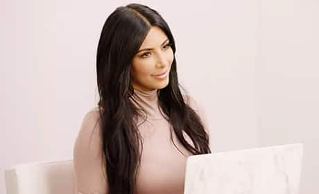 Kim Kardashian Pens Video Letter to Herself
