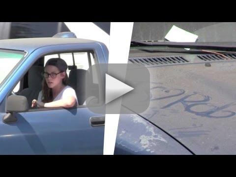 Kristen Stewart Curses Off Paparazzi