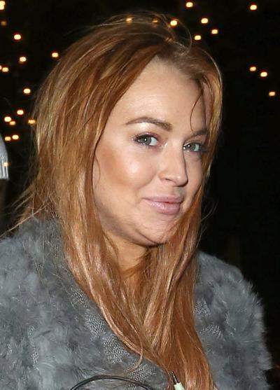 Lindsay Lohan Chins