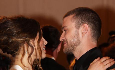 Justin Timberlake and Jessica Biel in Love