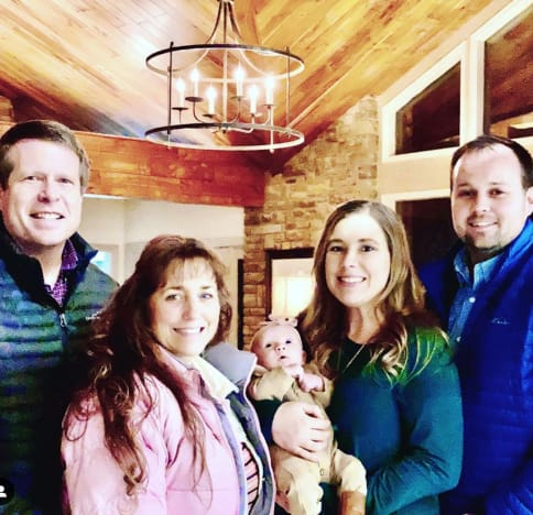 Josh Duggar and Fam