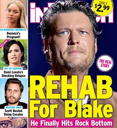 Blake Shelton Rehab Cover