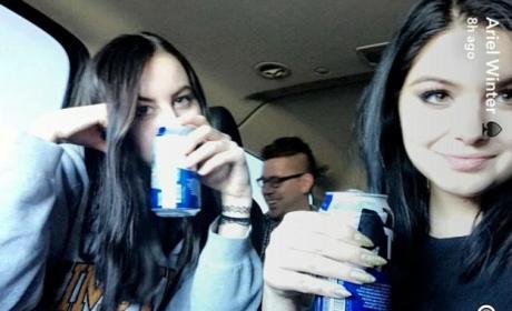 Ariel Winter: Legal Beer!