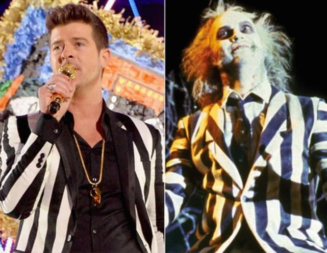 Robin Thicke vs. Beetlejuice