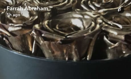 Farrah Abraham Ring and Roses