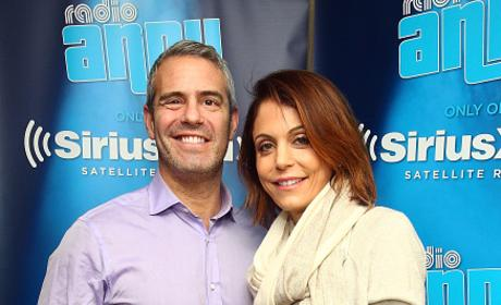 Andy Cohen & Bethenny Frankel On Sirius FM
